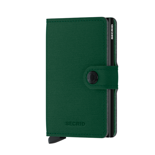 Secrid RFID Miniwallet  - Yard Green (NON LEATHER) - Burrows and Hare