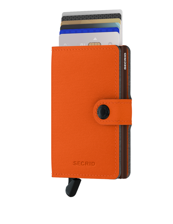 Secrid RFID Miniwallet - Yard Orange (NON LEATHER)