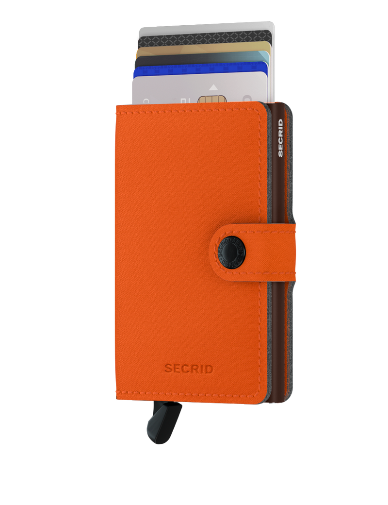 Secrid RFID Miniwallet - Yard Orange (NON LEATHER) - Burrows and Hare