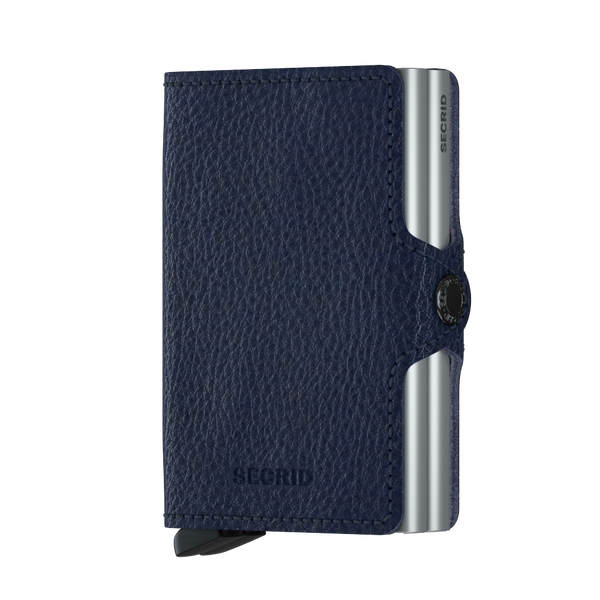 SECRID RFID Twin Wallet - Veg Navy / Silver