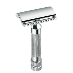Merkur Classic Double Edge Safety Razor Short Handle - Burrows and Hare