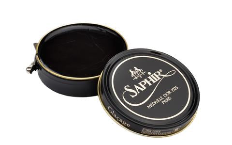 Saphir Shoe Polish - Black - Burrows and Hare