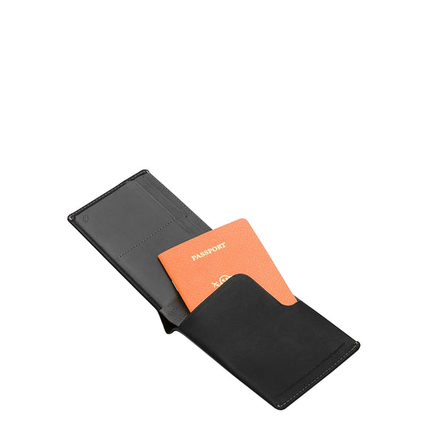 Bellroy Travel Wallet - Black - Burrows and Hare