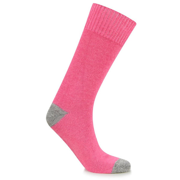 Burrows & Hare Alpaca Sock - Pink - Burrows and Hare