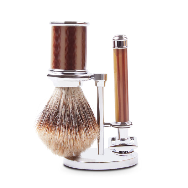 Burrows & Hare Shaving Stand Set - Resin - Burrows and Hare