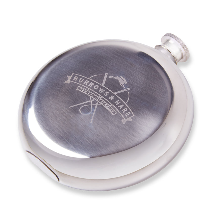Burrows & Hare Hip Flask - Burrows and Hare