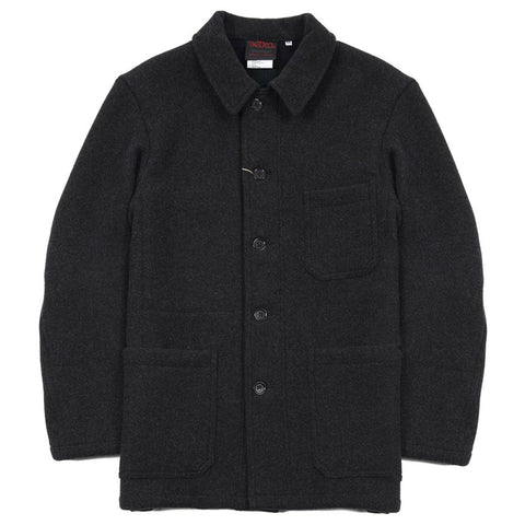 Vetra Double Face Workwear Melton Jacket - Anthracite