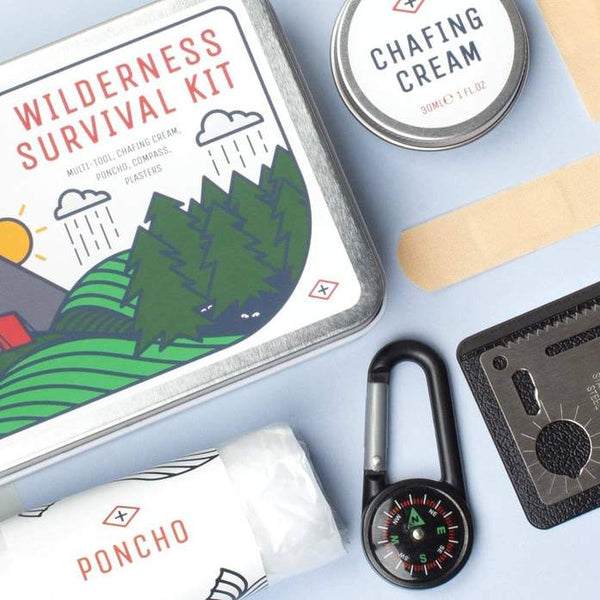 Men's Society Wilderness Survival Kit - Burrows and Hare