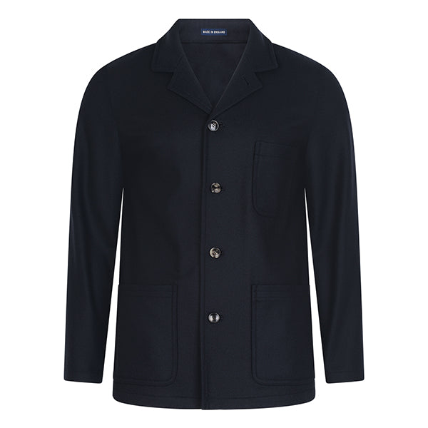 Burrows and Hare Oscar Jacket - Navy - Burrows and Hare