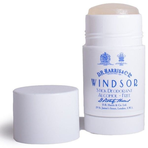 D.R Harris Windsor Scented Alcohol Free Deodorant Stick - Burrows and Hare