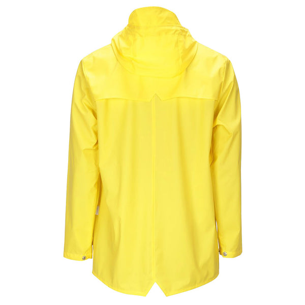 Rains Waterproof Jacket - Yellow - Burrows and Hare
