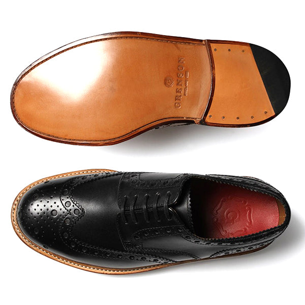 Grenson Archie - Black - Burrows and Hare