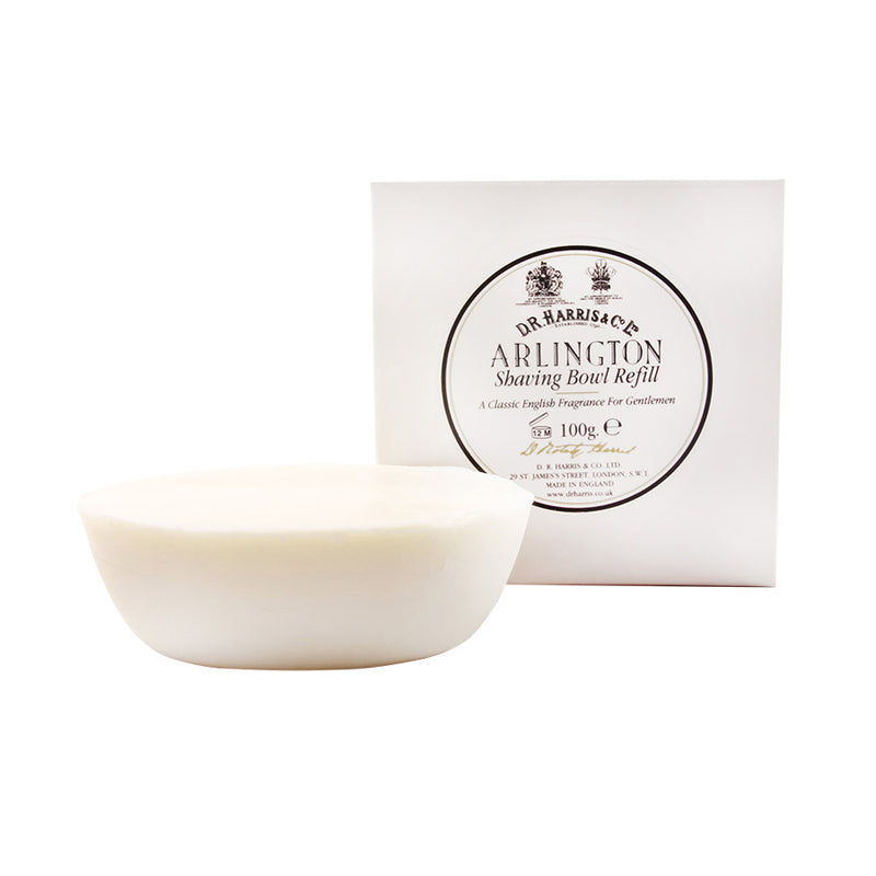 D.R. Harris & Co. Shaving Soap Refill - Arlington - Burrows and Hare