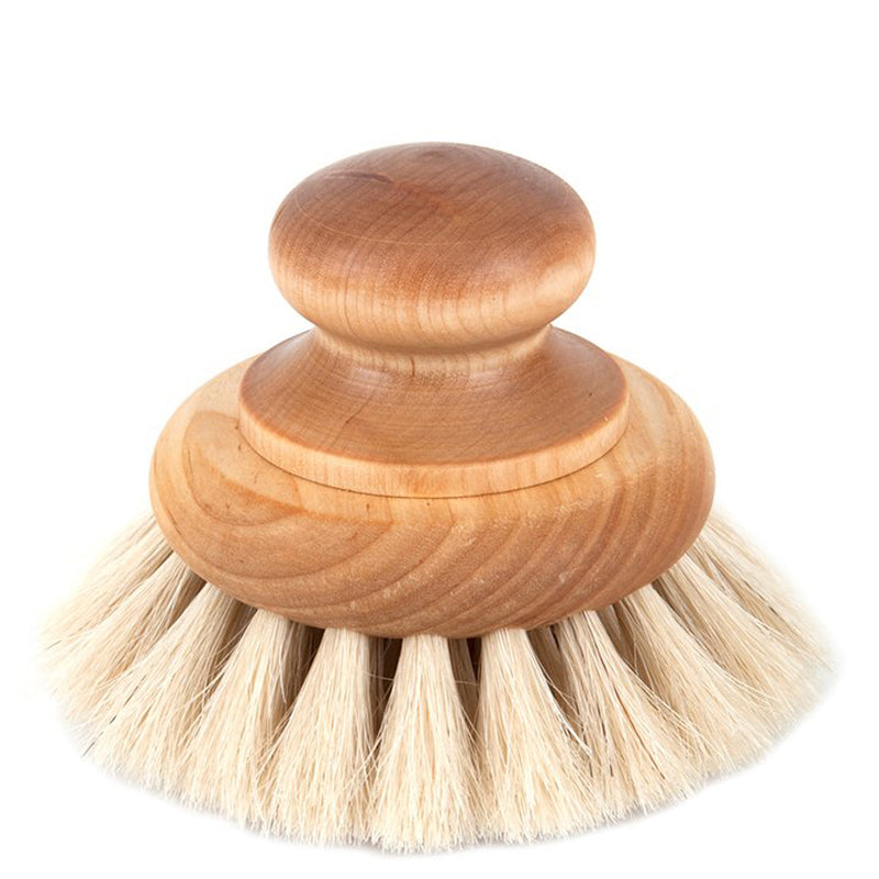 Redecker Horse Hair Bath Brush With Knob - Burrows and Hare