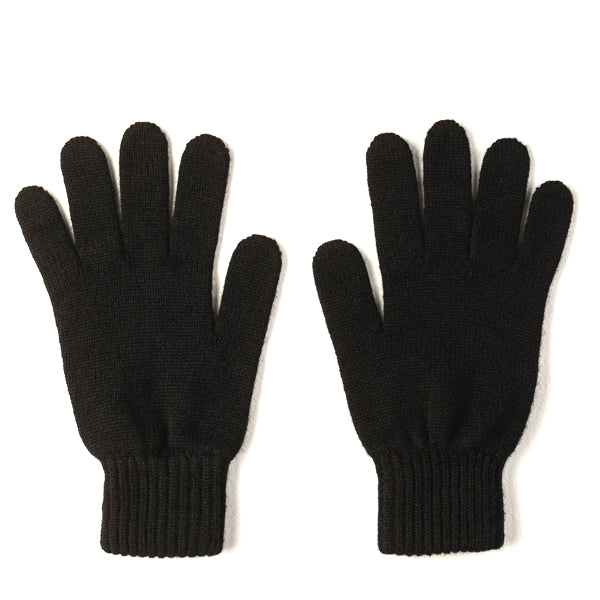 Burrows and Hare 100% Cashmere Gloves - Black - Burrows and Hare