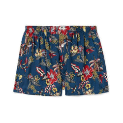 Anonymous Ism Flower Boxer Short - Navy - Burrows and Hare