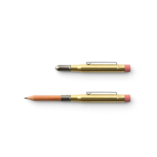 Traveler's Company Brass Bullet Pencil - Burrows and Hare