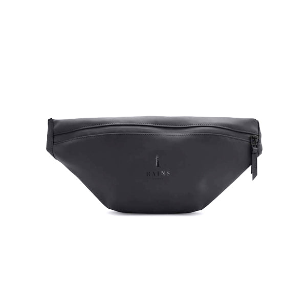 Rains Unisex Bum Bag - Black - Burrows and Hare
