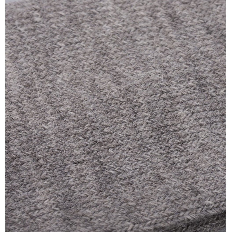 Burrows & Hare Alpaca Sock - Light Grey - Burrows and Hare