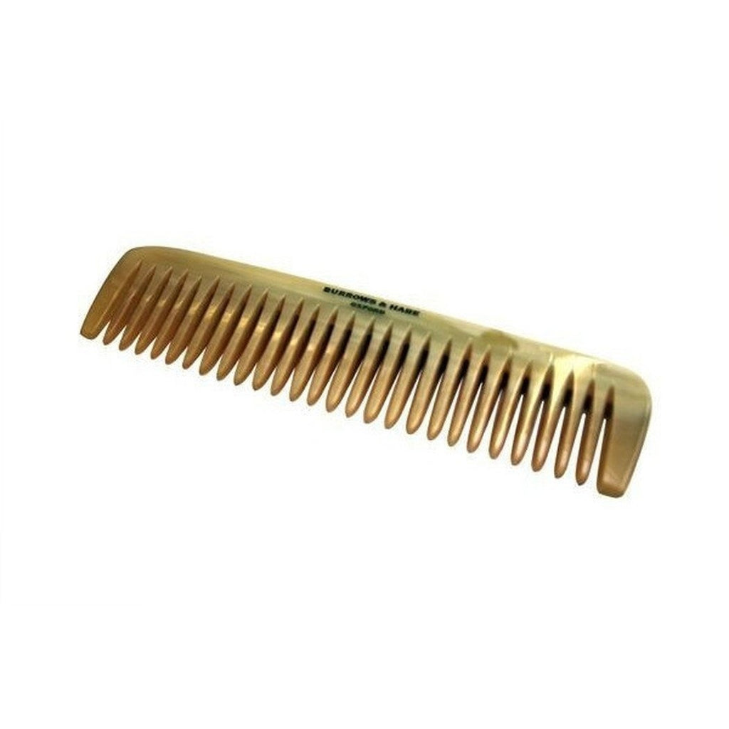 Burrows & Hare English Made Sustainable Ox Horn Comb Small-Grooming-Burrows and Hare-Burrows and Hare