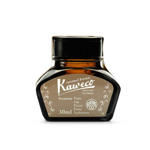 Kaweco Ink Bottle 30ml - Caramel Brown - Burrows and Hare