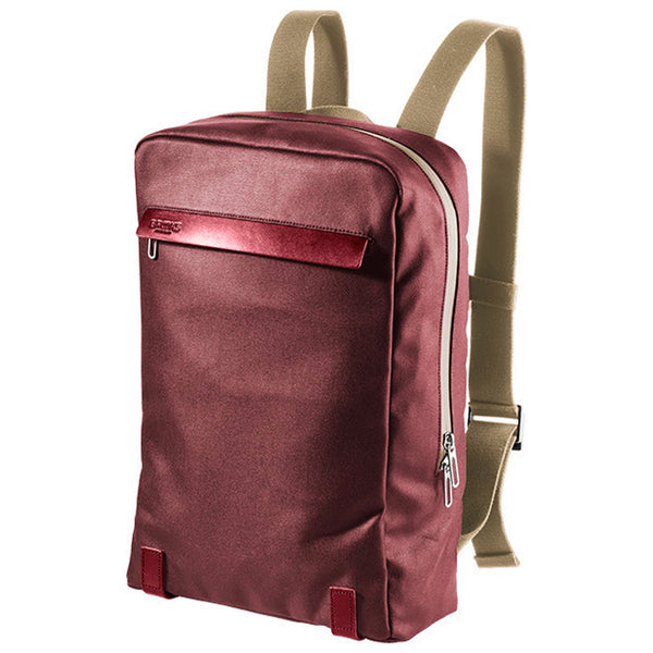 Brooks England PickZip Backpack 20L - Chianti - Burrows and Hare