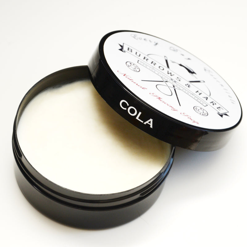 Burrows and Hare Shaving Soap - Cola - Burrows and Hare
