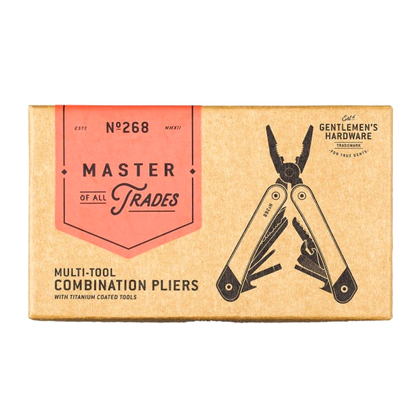 Gentlemen's Hardware Multi Tool Combination Pliers - Burrows and Hare