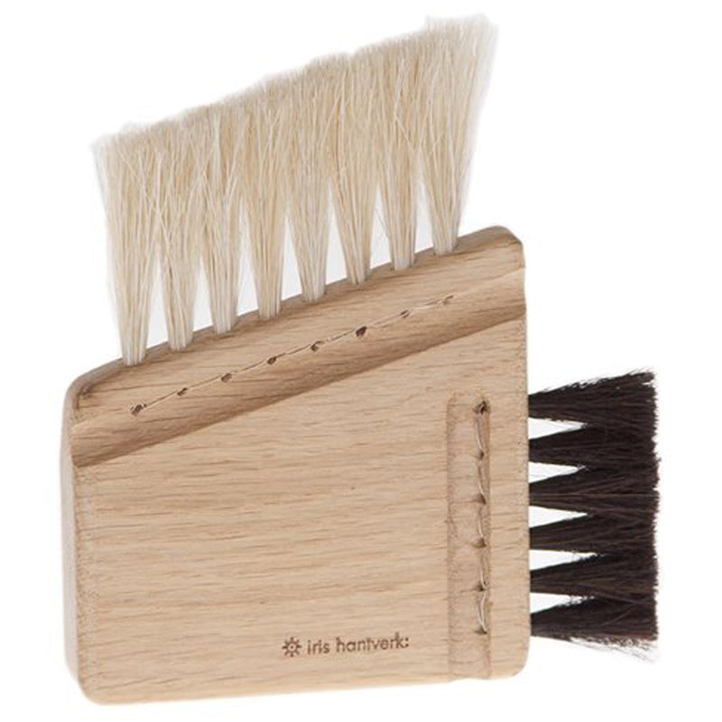Iris Hantverk Oak And Horse Hair Combi Computer Brush - Burrows and Hare