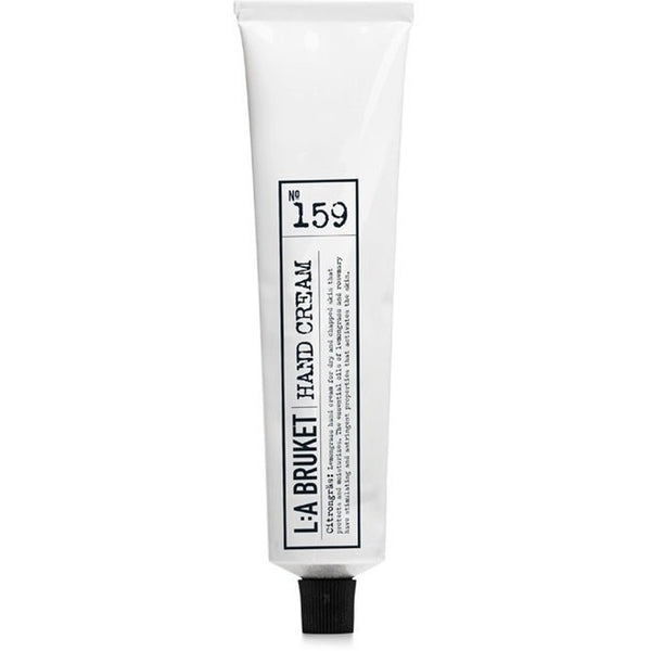 L:A Bruket No: 159 Nourishing & Soothing Scented Lemongrass Hand Cream - Burrows and Hare