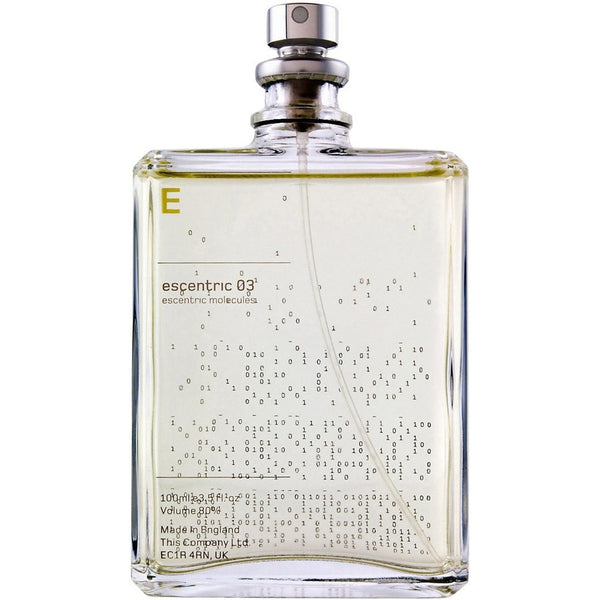 "Escentric Molecules Escentric 03 Unisex Vetiver ""Grapefruit & Black Pepper"" Fragrance - Burrows and Hare"