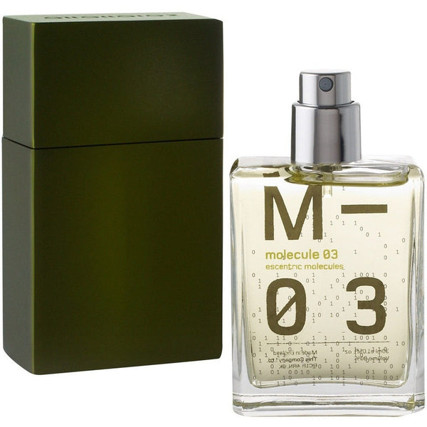 Escentric Molecules Molecule 03 Unisex Vetiver Travel Size Fragrance - Burrows and Hare
