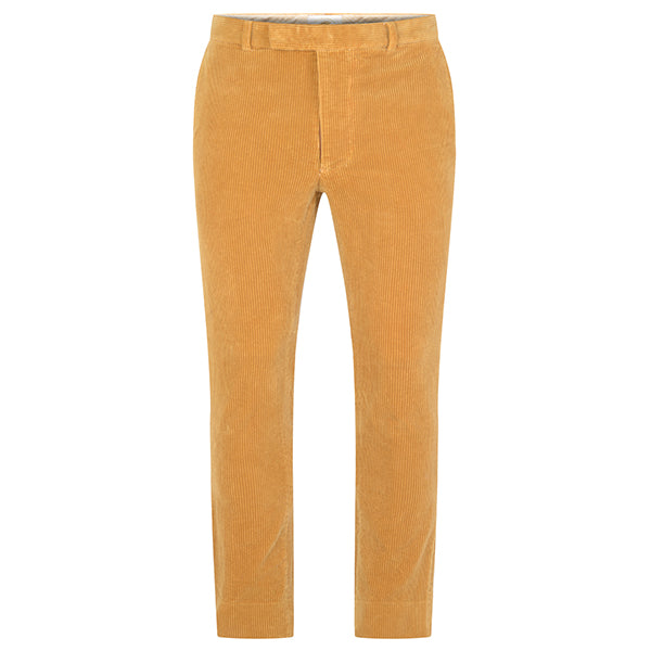 Burrows and Hare Cord Trousers - Mustard - Burrows and Hare