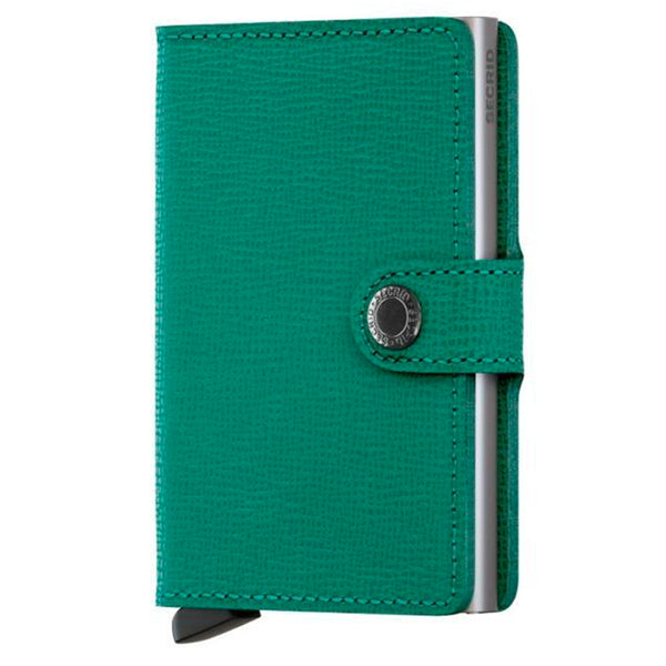 Secrid Miniwallet Crisple Emerald - Burrows and Hare