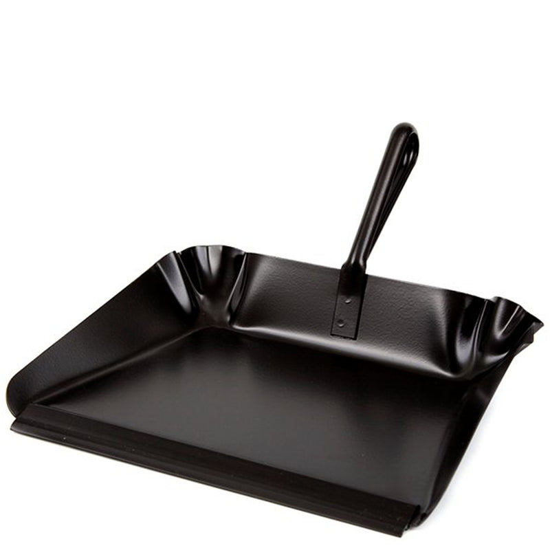 Iris Hantverk Metal Dustpan With Handle - Burrows and Hare