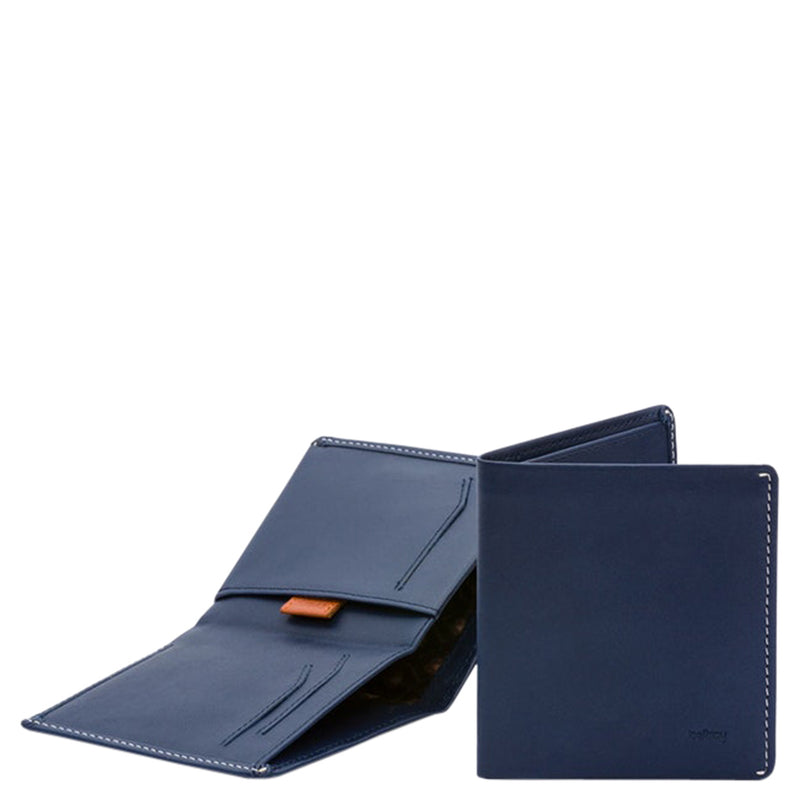 Bellroy Note Sleeve RFID - Blue Steel - Burrows and Hare