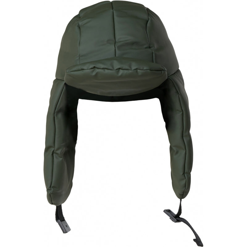 Rains Puffer Hat - Green - Burrows and Hare