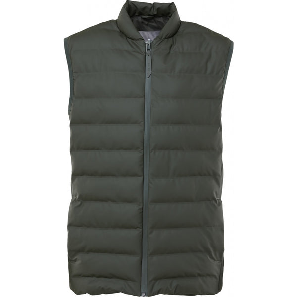 Rains Trekker Vest - Green - Burrows and Hare