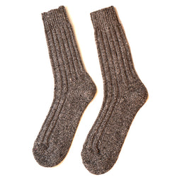 Burrows and Hare Donegal Socks - Grey - Burrows and Hare