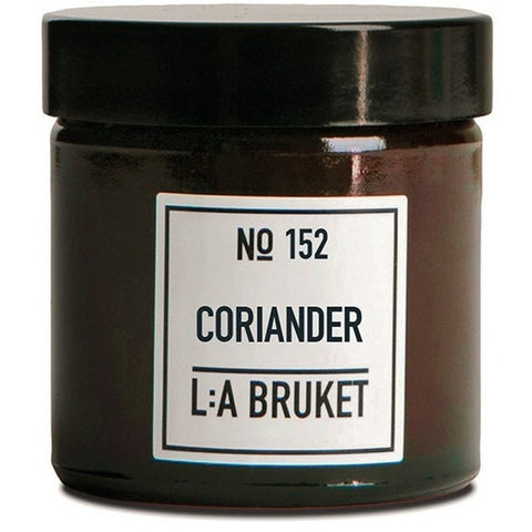 L:A Bruket No.152 - Organic Soy Wax & Essential Oils Coriander Scented Candle-Accessories-L:A Bruket-Burrows and Hare