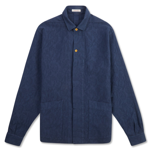 A.B.C.L. Kimi Shirt - Evening Blue - Burrows and Hare