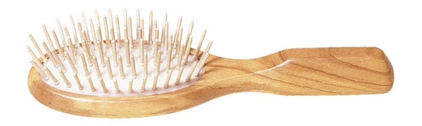 Olive Wood Hair Brush - Burrows and Hare