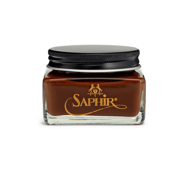 Saphir 1925 Creme - Medium Brown - Burrows and Hare