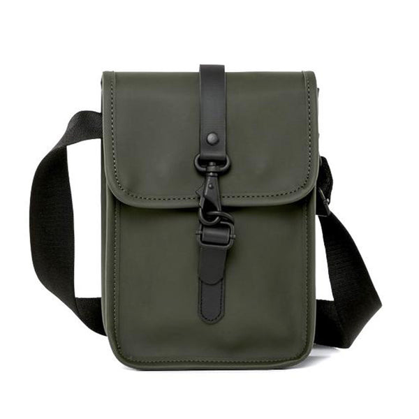 Rains Flight Bag - Green - Burrows and Hare