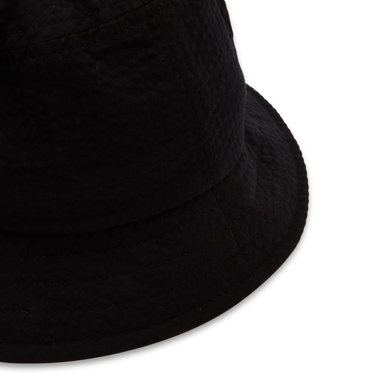 Hartford Bucket Hat - Black - Burrows and Hare