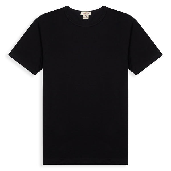 Burrows and Hare T-Shirt - Black - Burrows and Hare