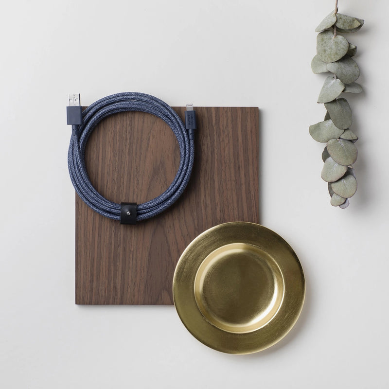 Native Union Belt Cable XL USB-A to Lightning - Indigo - Burrows and Hare