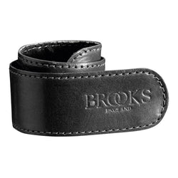Brooks England Leather Trouser Strap - Black - Burrows and Hare