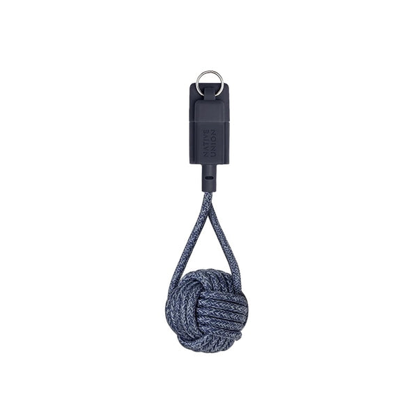 Native Union Key Cable USB-A to Lightning - Indigo - Burrows and Hare