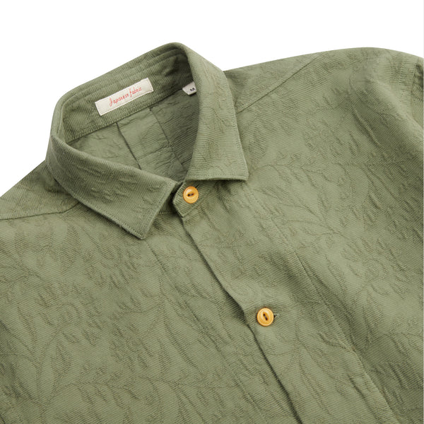 A.B.C.L. Kimi Shirt - Green - Burrows and Hare